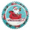 Cápsulas cupcakes Santa Claus Nuevo Wilton