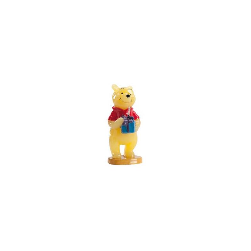 Vela Winnie Pooh Cumpleaños