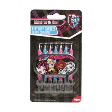 Vela pack 7 velas Monster High