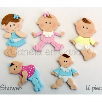 Cortante pack 16 cortantes Baby Shower