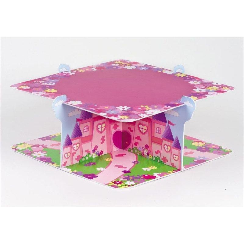 Stand de presentación cupcakes/dulces Princesas