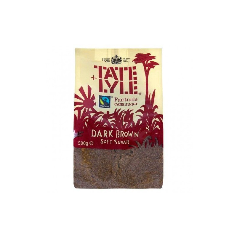 Azúcar moreno de caña Dark Brown Sugar Tate & Lyle