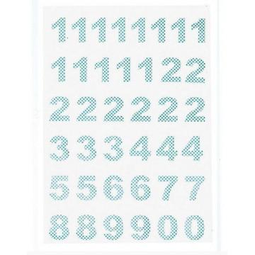Calendario de números Pegatinas Green Gate