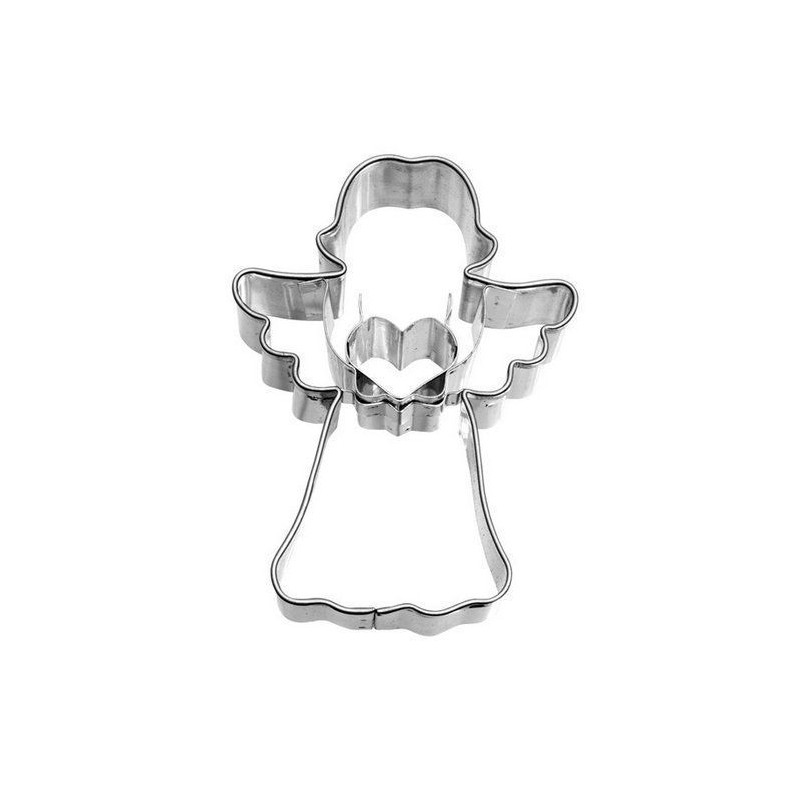 Cortante galleta Ángel Corazón Birkmann