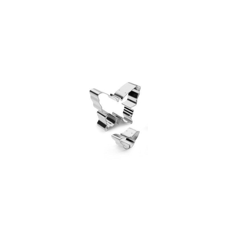Cortante pack 2 cortantes Mariposas Ibili