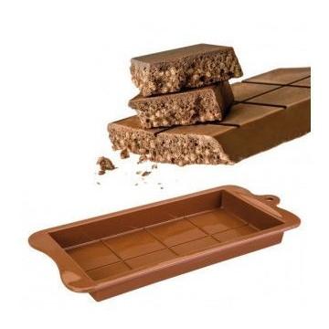 Molde silicona Turrón de Chocolate Ibili