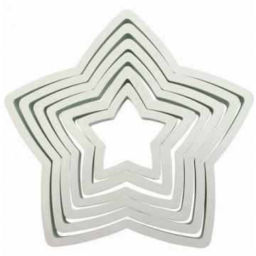 Cortante pack 6 cortantes básicos estrella PME