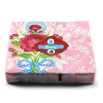 Servilletas de papel Floral Rose PIP Studio