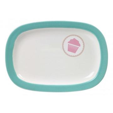 Bandeja de presentación pequeña verde menta Lily´s Cupcake
