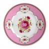 Plato de cerámica postre Floral Rosa PIP Studio