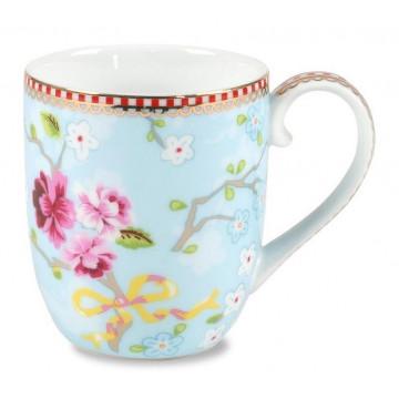 Tacita con asa Floral Chinese Azul PIP Studio