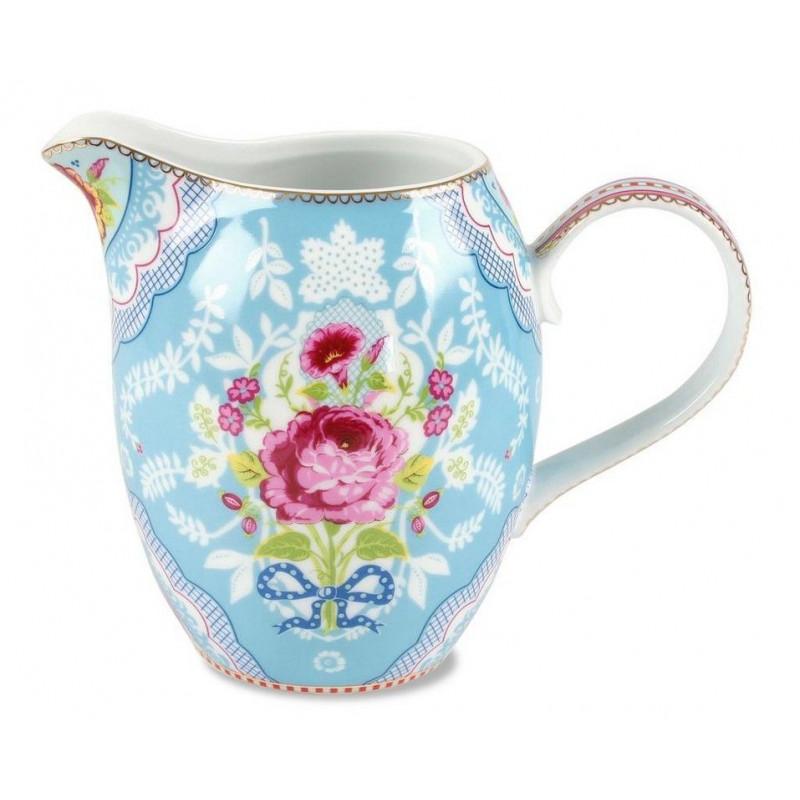 Lechera cerámica Floral Azul 1L PIP Studio