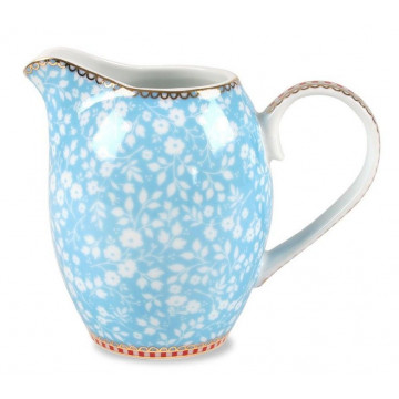 Lechera de cerámica Floral Azul 250ml PIP Studio