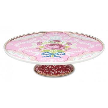 Cake Stand Ceramica Floral Rosa PIP Studio