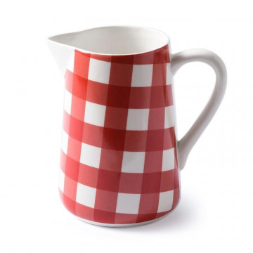Lechera cerámica Vichy Rojo 1.5L AHWM