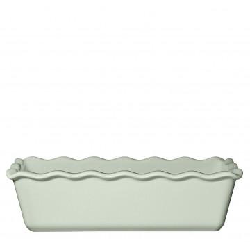 Molde rectangular de ceramica Verde Menta Émily Henry