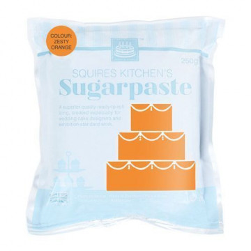 Fondant Squire Kitchen 250gr Zesty Orange Naranja Ácida
