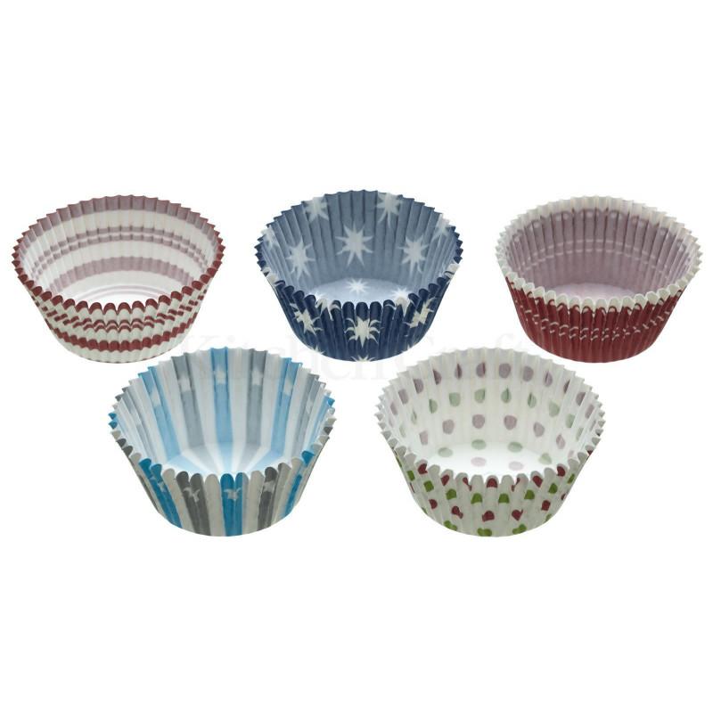 Capsulas cupcakes 250 unidades varios tematica Invierno