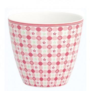 Tazón de leche Mimi Pink Green Gate