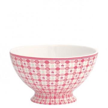 Bol de cerámica grande Mimi Pink Green Gate