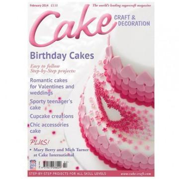 Revista Cake Craft & Decoration Edición Febrero 2014