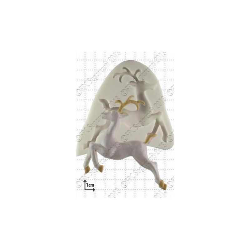 Molde silicona Ciervo FPC