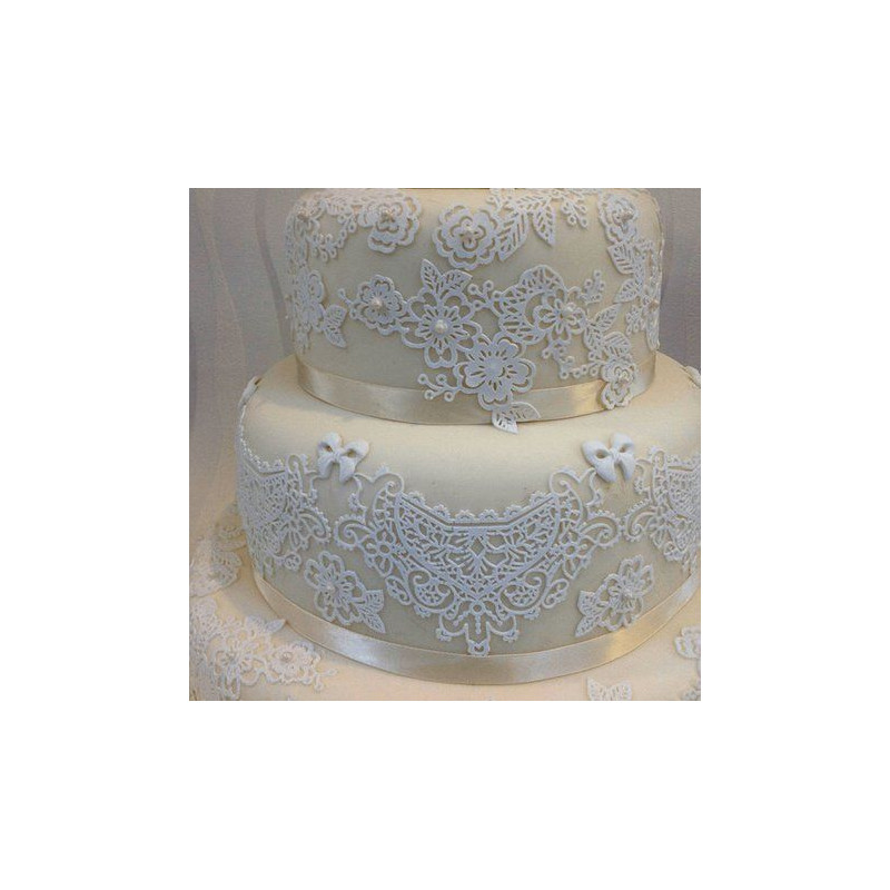 Tapete de silicona Sweet Lace Cake Lace