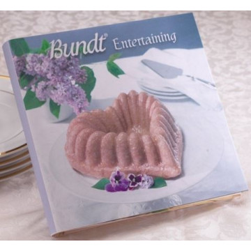 Libro Bundt Entertaining Cookbook Nordic Ware