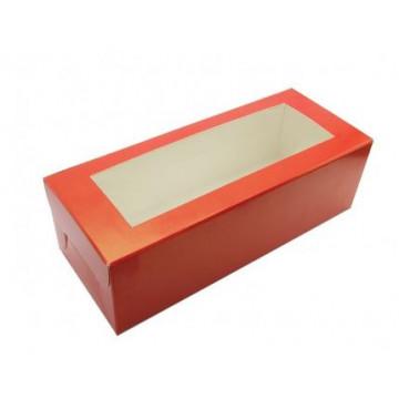 Caja para galletas Roja