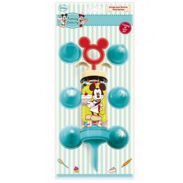 Juego Pistola Decoradora Mickey Mouse Family Bakery Disney