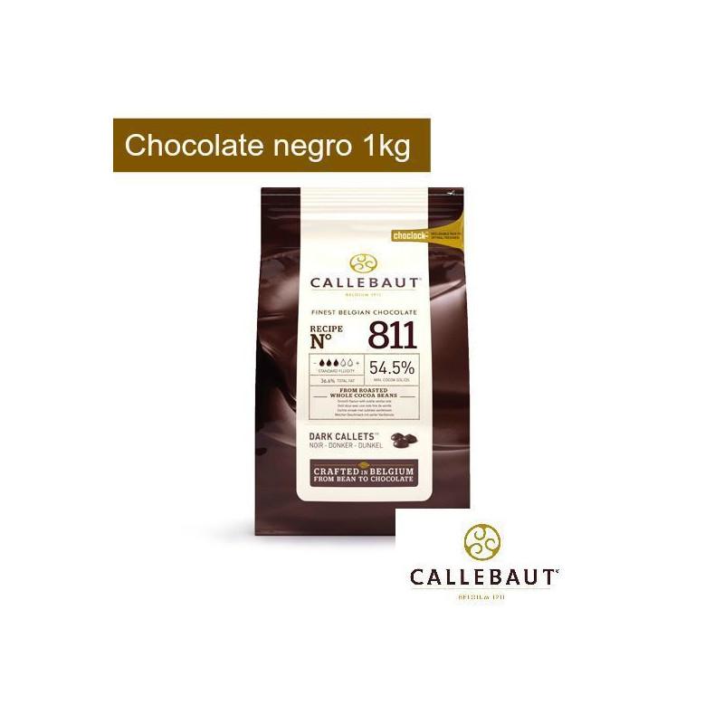 Chocolate negro 53,8% en grageas1kg Callebaut