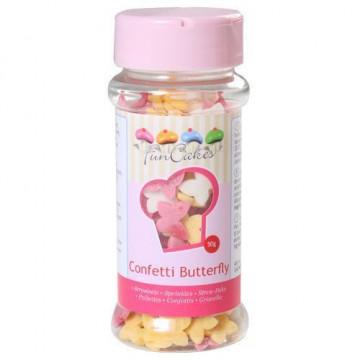 Sprinkles Mariposas de Colores Funcakes