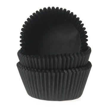 Cápsulas cupcakes Negras House of Marie