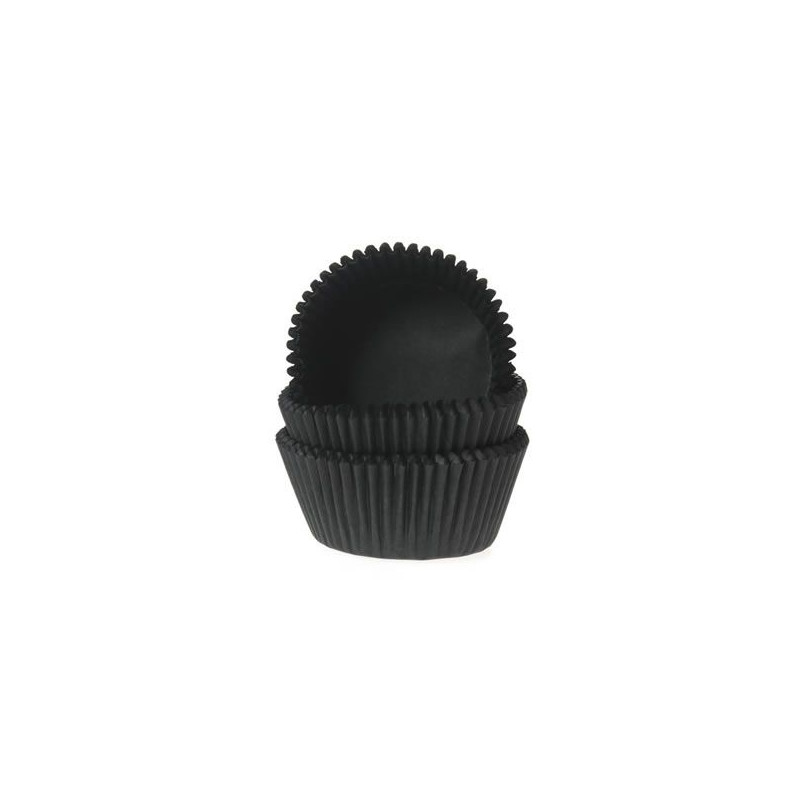 Capsulas cupcakes Negro HoM