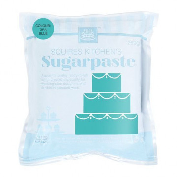 Fondant Squire Kitchen 250gr Turquesa Spa Blue