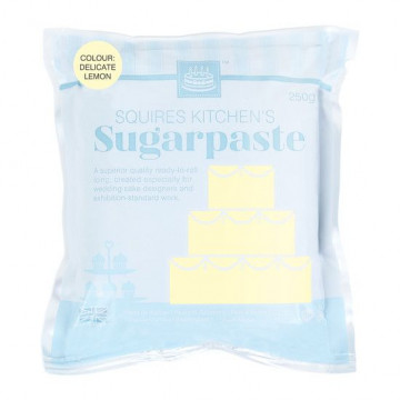 Fondant Squire Kitchen 250gr Amarillo Pastel Delicate Lemon