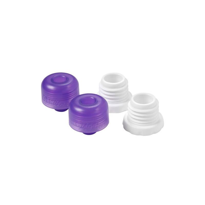 Kit de Tapón y Adaptador de boquilla para candy melts Wilton, 4 u.