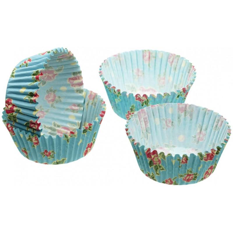 Capsulas cupcakes Vintage Rosas