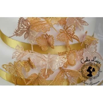 Tapete de silicona Mariposas Cake Lace