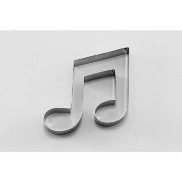 Cortante galleta Nota Musical Doble Corchea 2