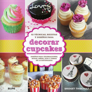 Libro Decorar Cupcakes de Bridget Thibeault