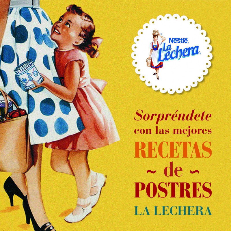 Libro Recetas de Postres La Lechera