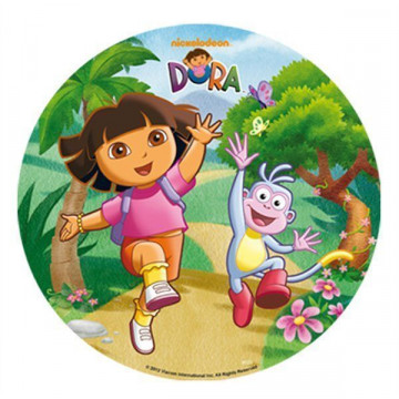 Oblea comestible Dora la Exploradora 1