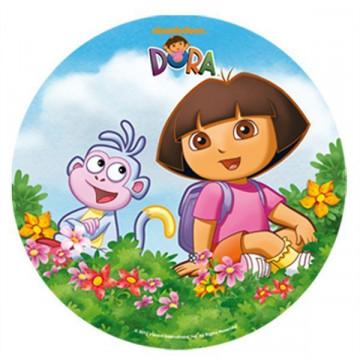 Oblea comestible Dora la Exploradora 2