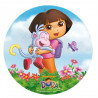 Oblea comestible Dora la Exploradora 3