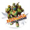 Oblea comestible Tortugas Ninja 1