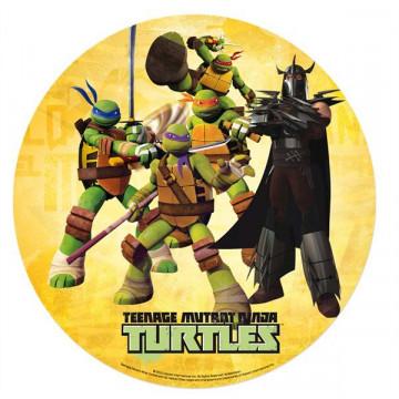 Oblea comestible Tortugas Ninja 2