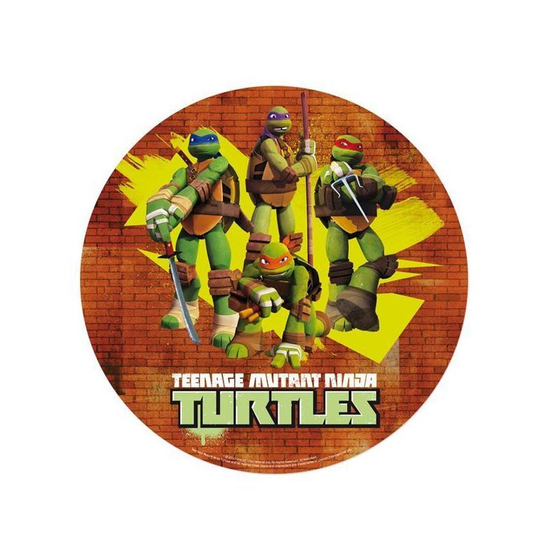 Oblea comestible Tortugas Ninja 3