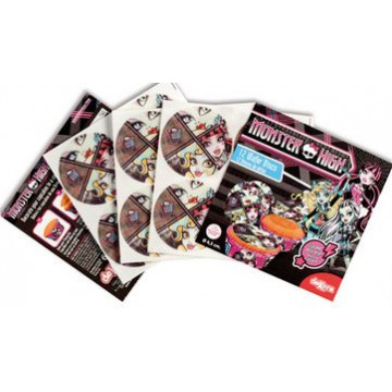 Obleas Cupcakes pack 12 Monster High