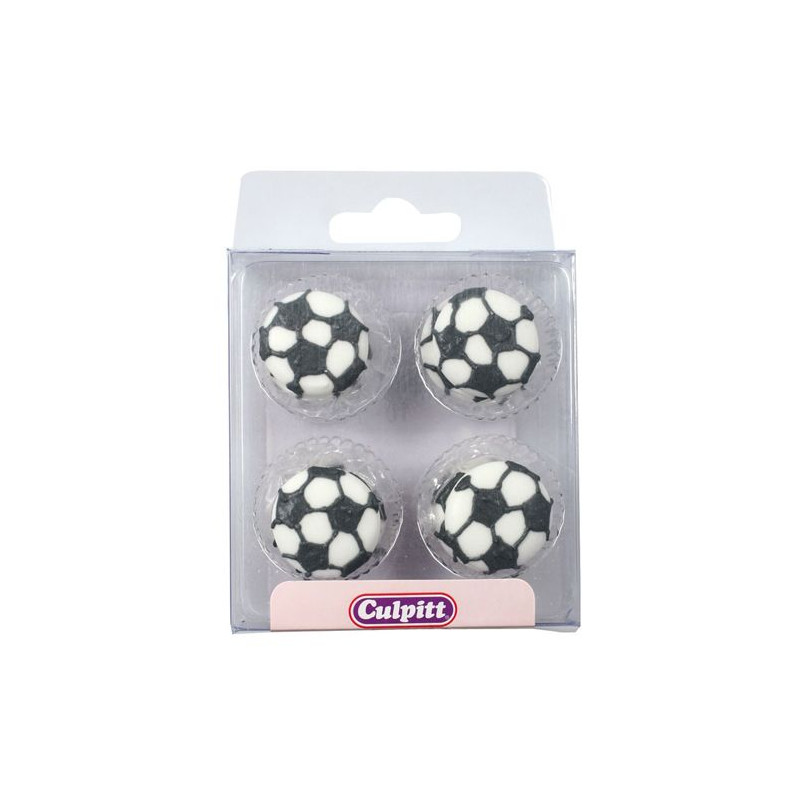 Decoraciones de Icing Balon de fútbol Culpitt